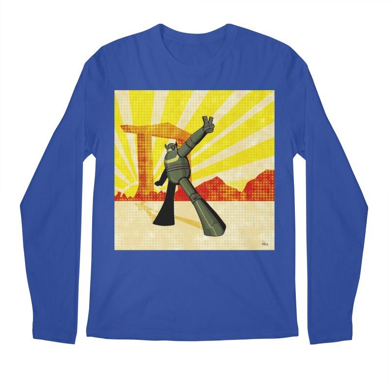 Robot Men's Regular Longsleeve T-Shirt by droidmonkey's Artist Shop