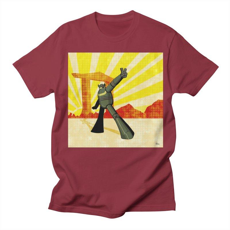 Robot Men's Regular T-Shirt by droidmonkey's Artist Shop
