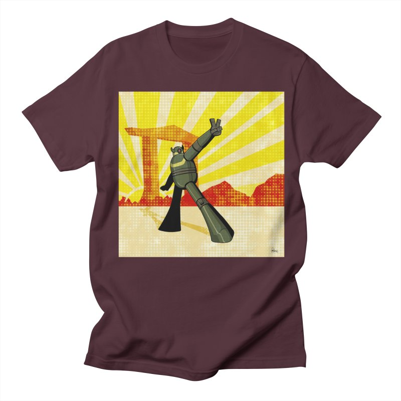 Robot Women's Regular Unisex T-Shirt by droidmonkey's Artist Shop