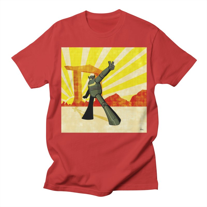 Robot Men's Regular T-Shirt by droidmonkey's Artist Shop