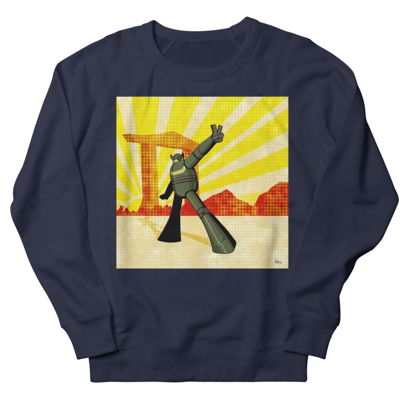 Robot Women's French Terry Sweatshirt by droidmonkey's Artist Shop