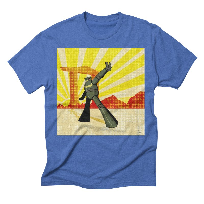 Robot Men's Triblend T-Shirt by droidmonkey's Artist Shop