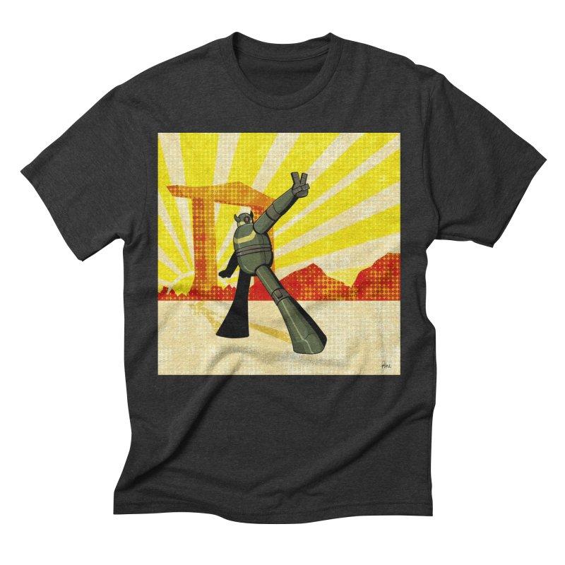 Robot Men's Triblend T-Shirt by droidmonkey's Artist Shop