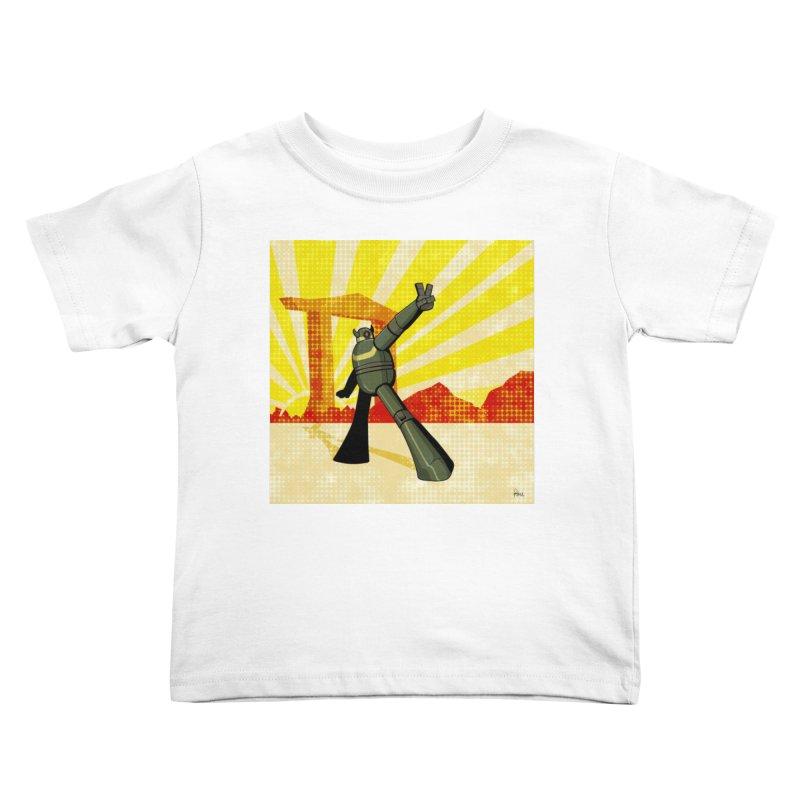 Robot Kids Toddler T-Shirt by droidmonkey's Artist Shop