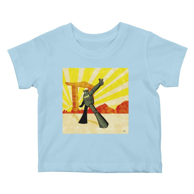Robot Kids Baby T-Shirt by droidmonkey's Artist Shop