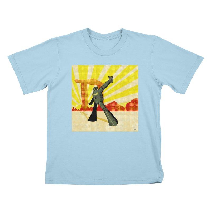 Robot Kids T-Shirt by droidmonkey's Artist Shop