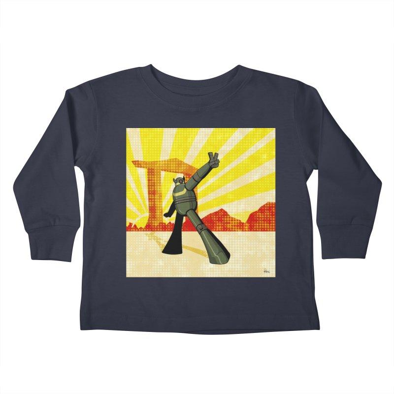 Robot Kids Toddler Longsleeve T-Shirt by droidmonkey's Artist Shop