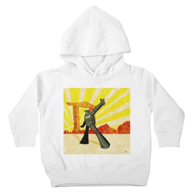 Robot Kids Toddler Pullover Hoody by droidmonkey's Artist Shop