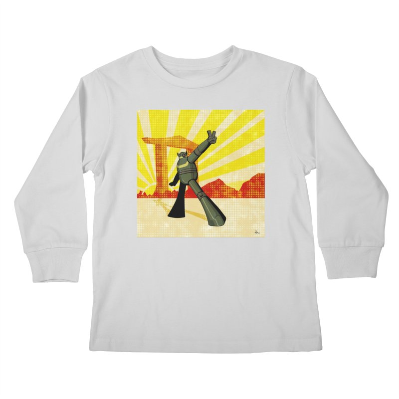 Robot Kids Longsleeve T-Shirt by droidmonkey's Artist Shop