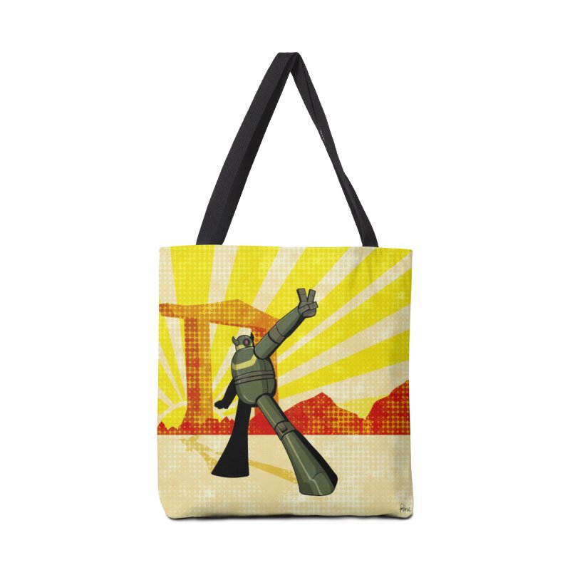 Robot Accessories Tote Bag Bag by droidmonkey's Artist Shop