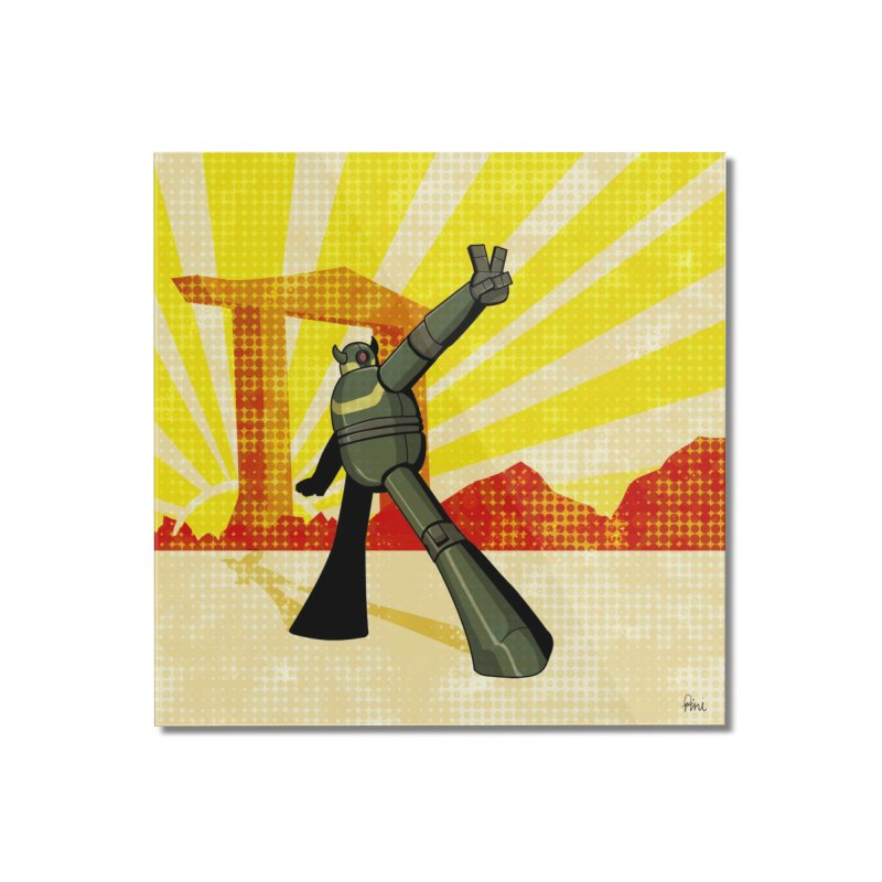 Robot Home Mounted Acrylic Print by droidmonkey's Artist Shop