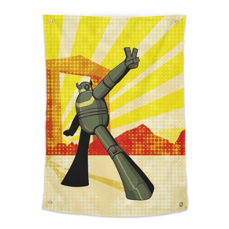 Robot Home Tapestry by droidmonkey's Artist Shop
