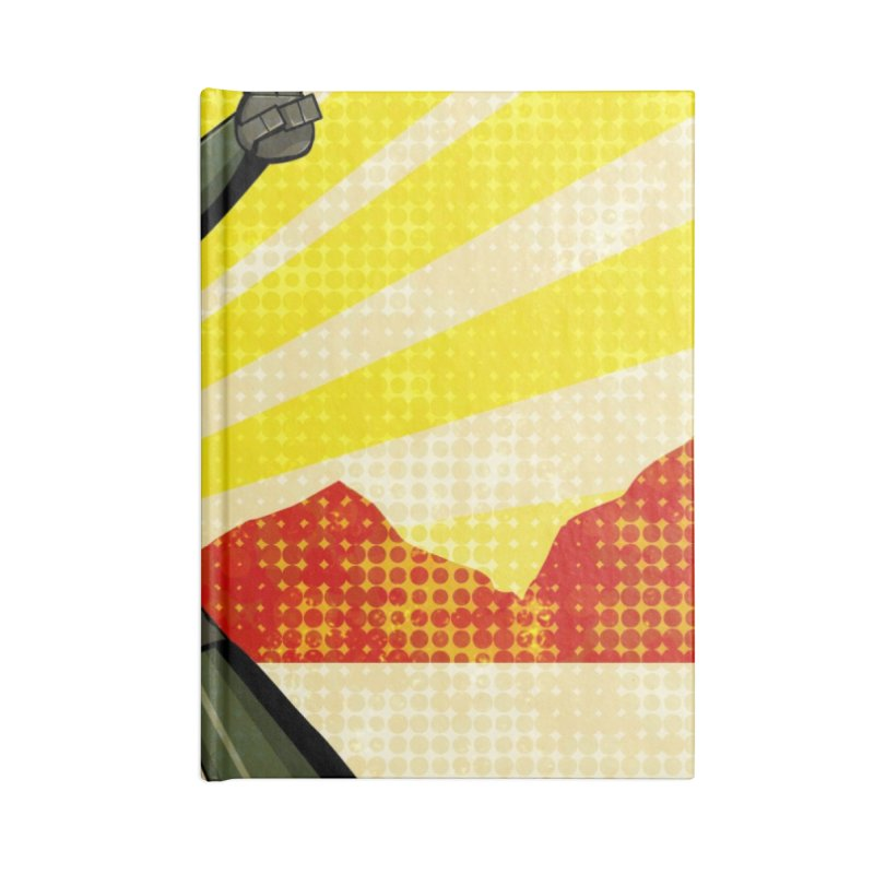 Robot Accessories Lined Journal Notebook by droidmonkey's Artist Shop