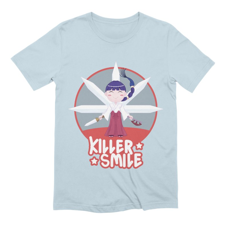 KILLER SMILE Men's Extra Soft T-Shirt by droidmonkey's Artist Shop