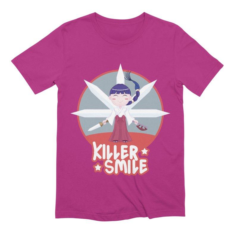 KILLER SMILE Men's Extra Soft T-Shirt by droidmonkey's Artist Shop