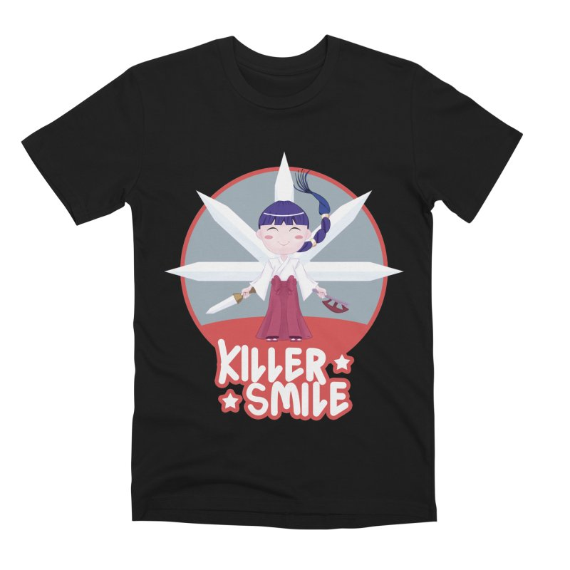 KILLER SMILE Men's Premium T-Shirt by droidmonkey's Artist Shop