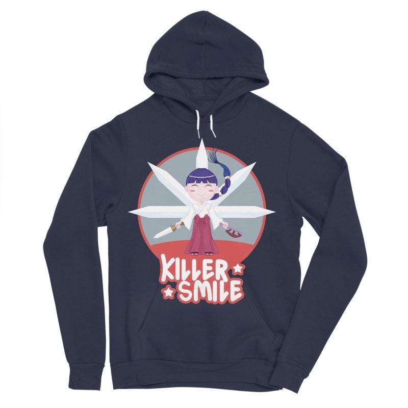KILLER SMILE Men's Sponge Fleece Pullover Hoody by droidmonkey's Artist Shop
