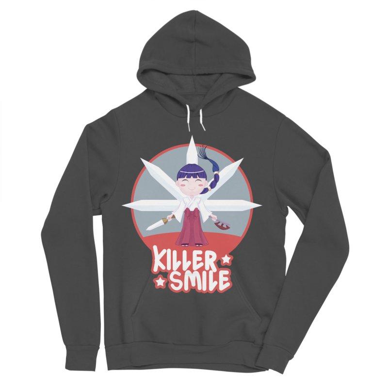 KILLER SMILE Women's Sponge Fleece Pullover Hoody by droidmonkey's Artist Shop