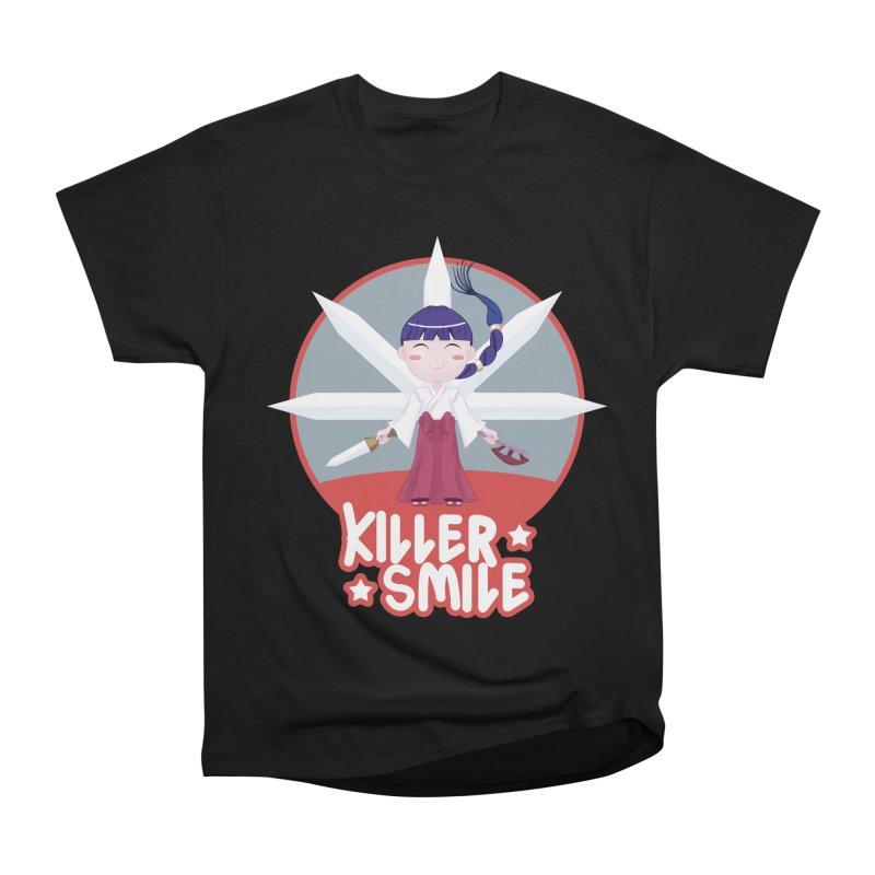 KILLER SMILE Women's Heavyweight Unisex T-Shirt by droidmonkey's Artist Shop