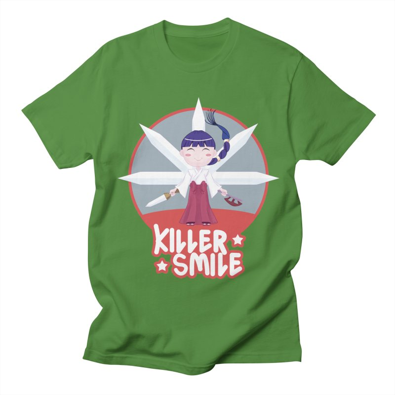 KILLER SMILE Men's Regular T-Shirt by droidmonkey's Artist Shop