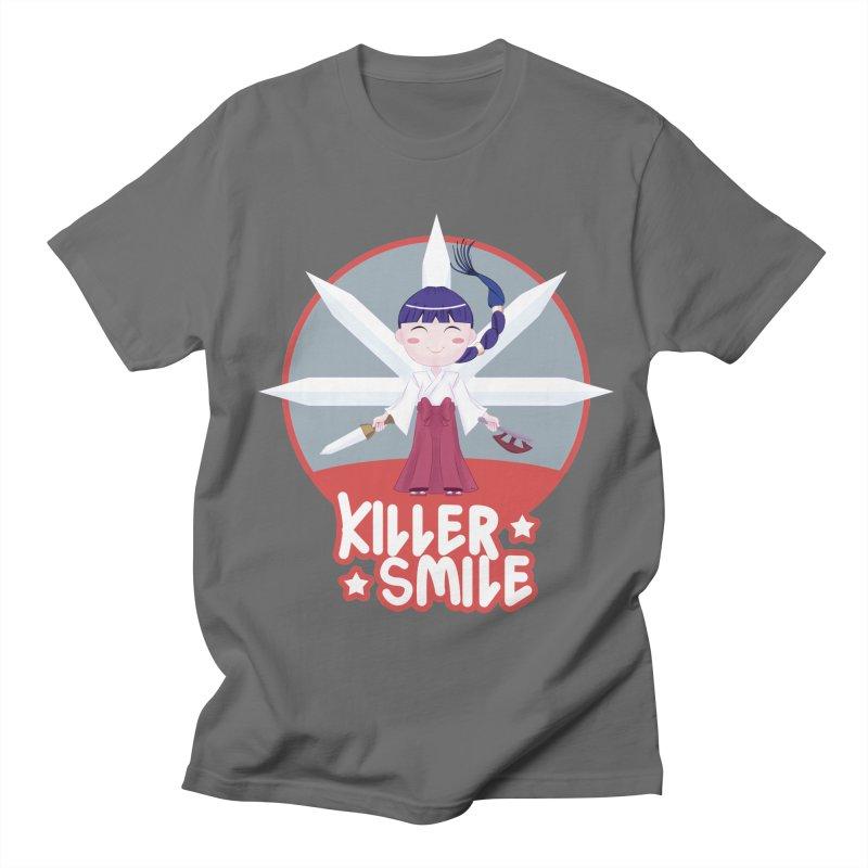 KILLER SMILE Men's T-Shirt by droidmonkey's Artist Shop