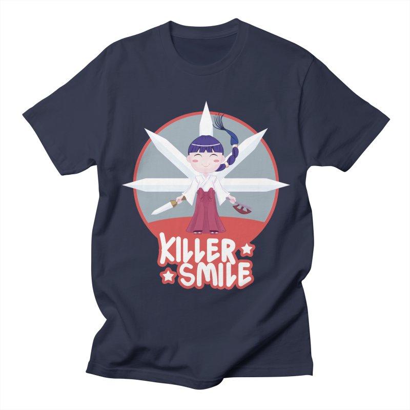 KILLER SMILE Women's Regular Unisex T-Shirt by droidmonkey's Artist Shop