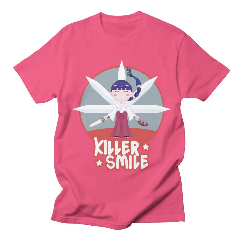 KILLER SMILE Men's Regular T-Shirt by droidmonkey's Artist Shop