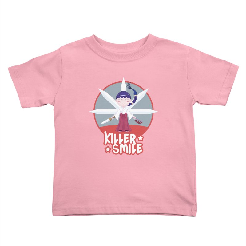 KILLER SMILE Kids Toddler T-Shirt by droidmonkey's Artist Shop
