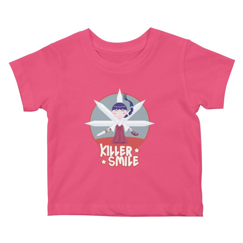 KILLER SMILE Kids Baby T-Shirt by droidmonkey's Artist Shop