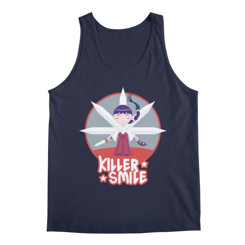 KILLER SMILE Men's Regular Tank by droidmonkey's Artist Shop
