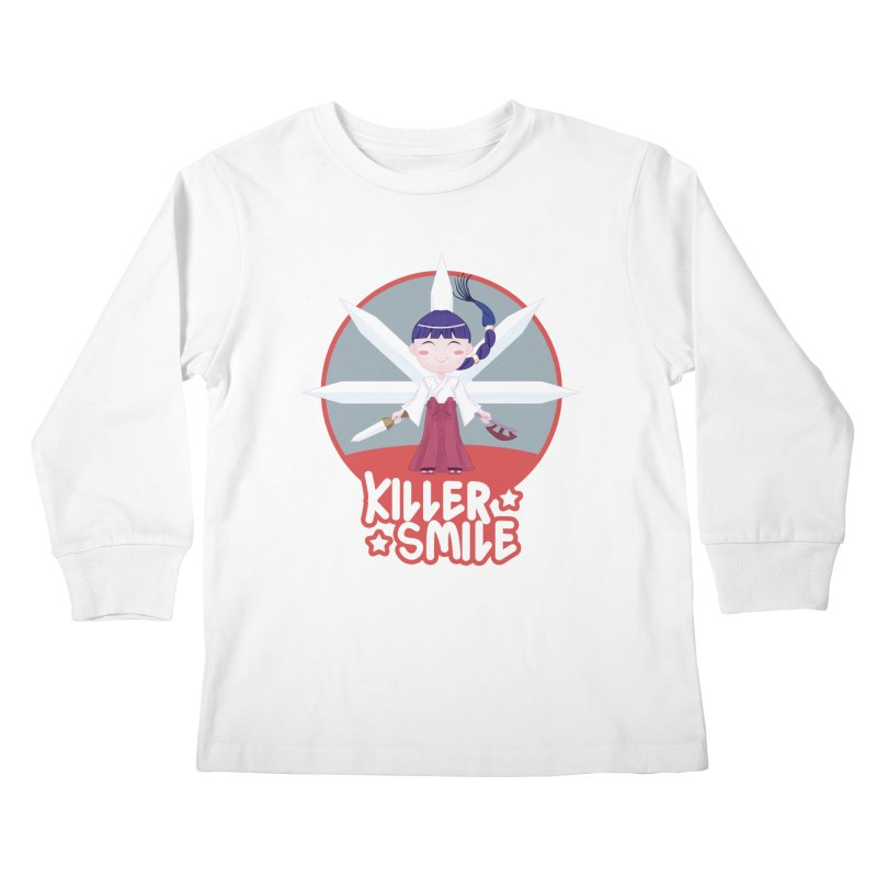 KILLER SMILE Kids Longsleeve T-Shirt by droidmonkey's Artist Shop