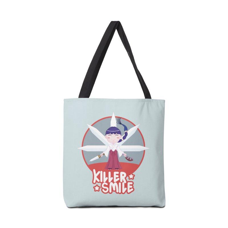 KILLER SMILE Accessories Tote Bag Bag by droidmonkey's Artist Shop