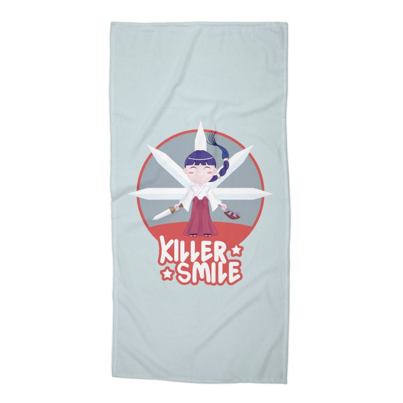KILLER SMILE Accessories Beach Towel by droidmonkey's Artist Shop