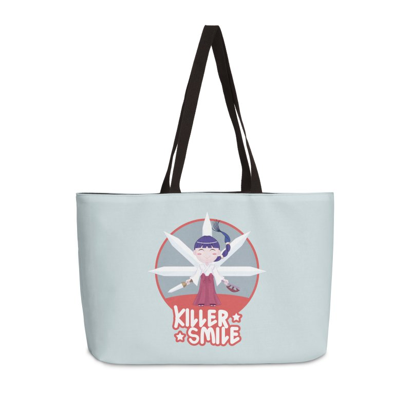 KILLER SMILE Accessories Weekender Bag Bag by droidmonkey's Artist Shop