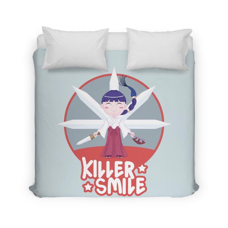 KILLER SMILE Home Duvet by droidmonkey's Artist Shop