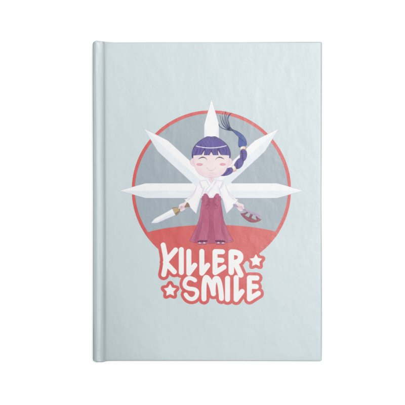 KILLER SMILE Accessories Blank Journal Notebook by droidmonkey's Artist Shop