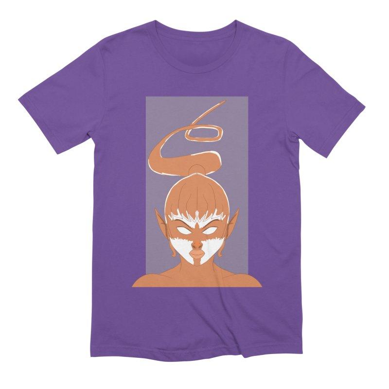 ELF GIRL Men's Extra Soft T-Shirt by droidmonkey's Artist Shop