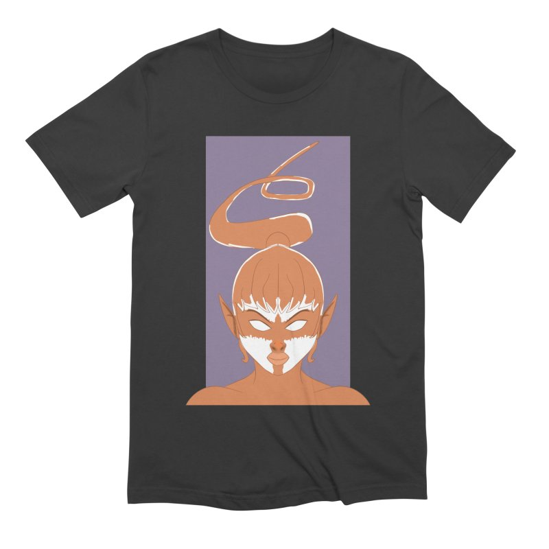 ELF GIRL Men's Extra Soft T-Shirt by droidmonkey's Artist Shop