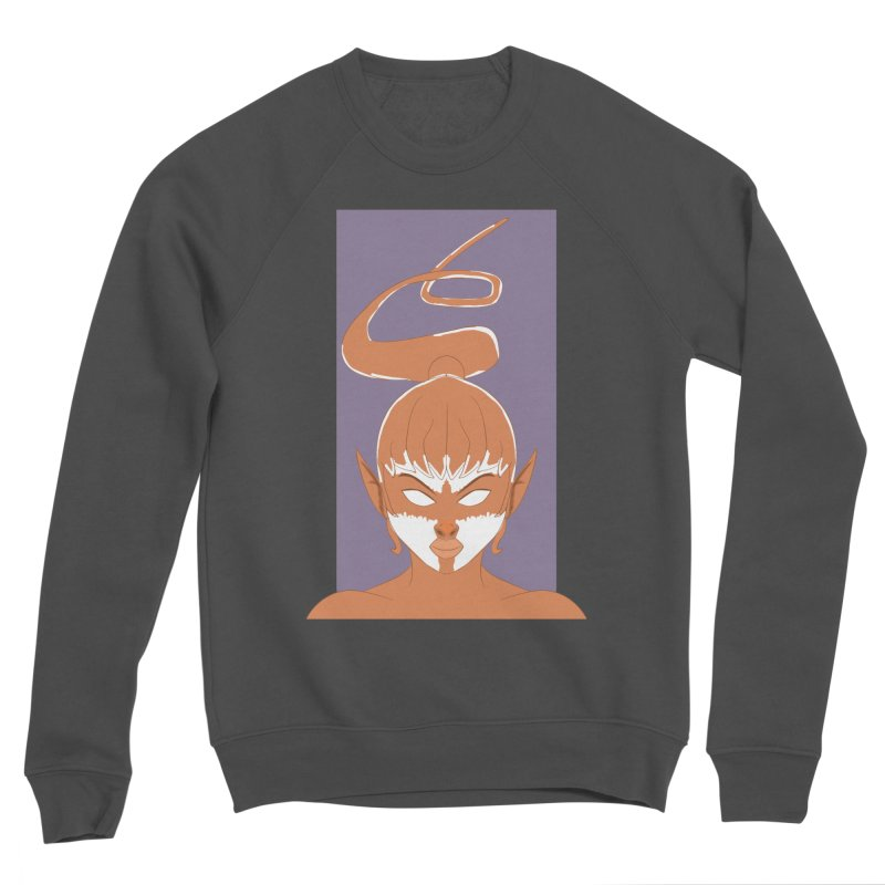 ELF GIRL Men's Sponge Fleece Sweatshirt by droidmonkey's Artist Shop