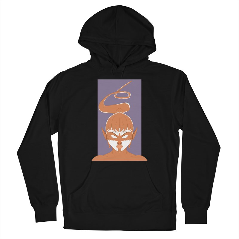 ELF GIRL Men's French Terry Pullover Hoody by droidmonkey's Artist Shop