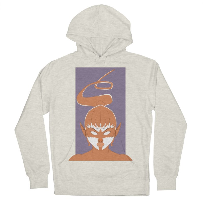 ELF GIRL Women's French Terry Pullover Hoody by droidmonkey's Artist Shop
