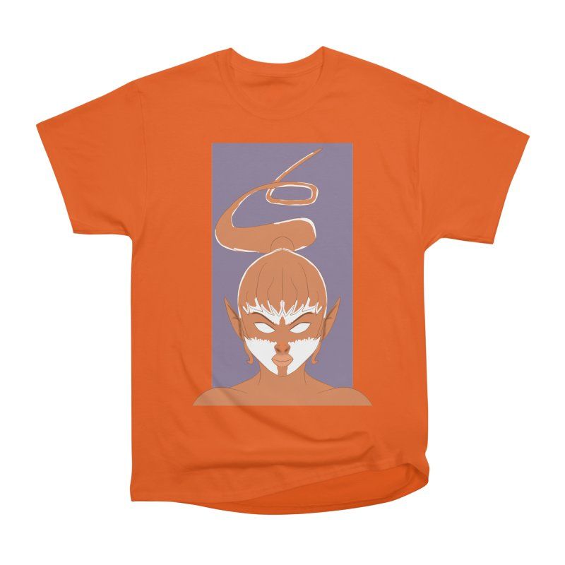 ELF GIRL Women's Heavyweight Unisex T-Shirt by droidmonkey's Artist Shop