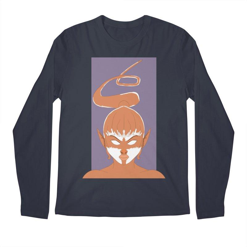 ELF GIRL Men's Regular Longsleeve T-Shirt by droidmonkey's Artist Shop