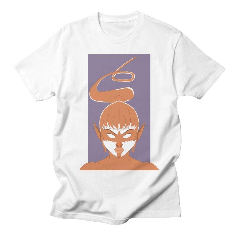 ELF GIRL Men's Regular T-Shirt by droidmonkey's Artist Shop