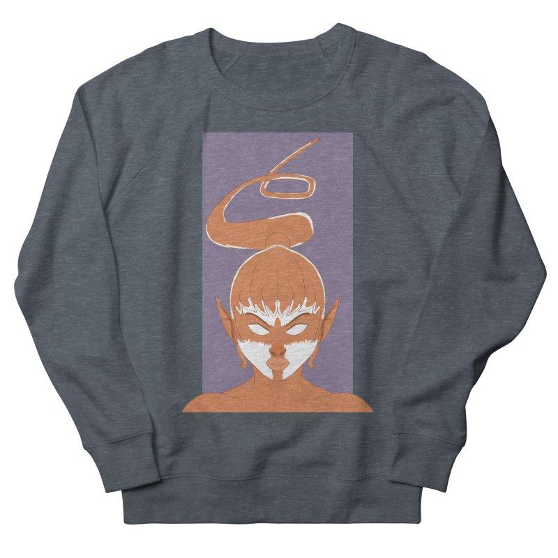 ELF GIRL Women's French Terry Sweatshirt by droidmonkey's Artist Shop