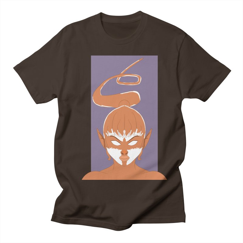 ELF GIRL Men's Regular T-Shirt by droidmonkey's Artist Shop