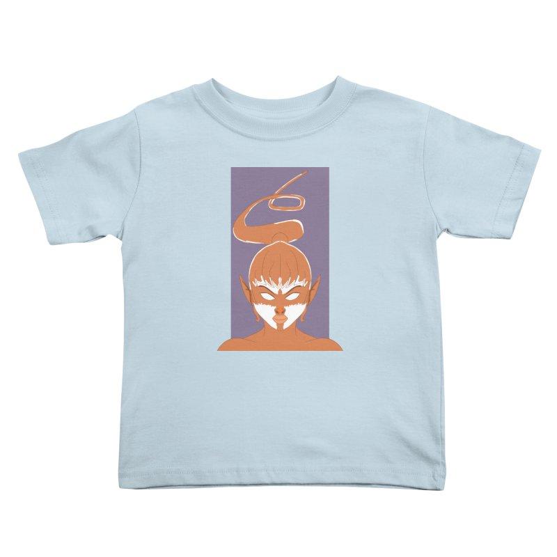ELF GIRL Kids Toddler T-Shirt by droidmonkey's Artist Shop