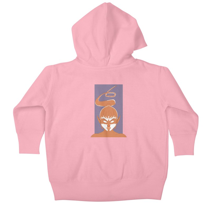 ELF GIRL Kids Baby Zip-Up Hoody by droidmonkey's Artist Shop