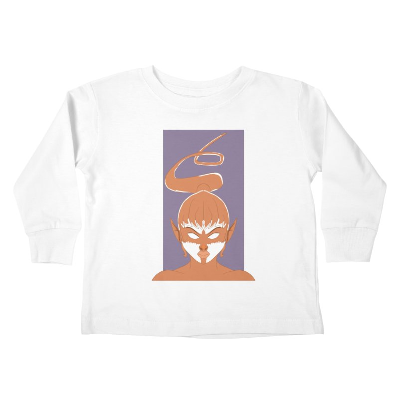 ELF GIRL Kids Toddler Longsleeve T-Shirt by droidmonkey's Artist Shop