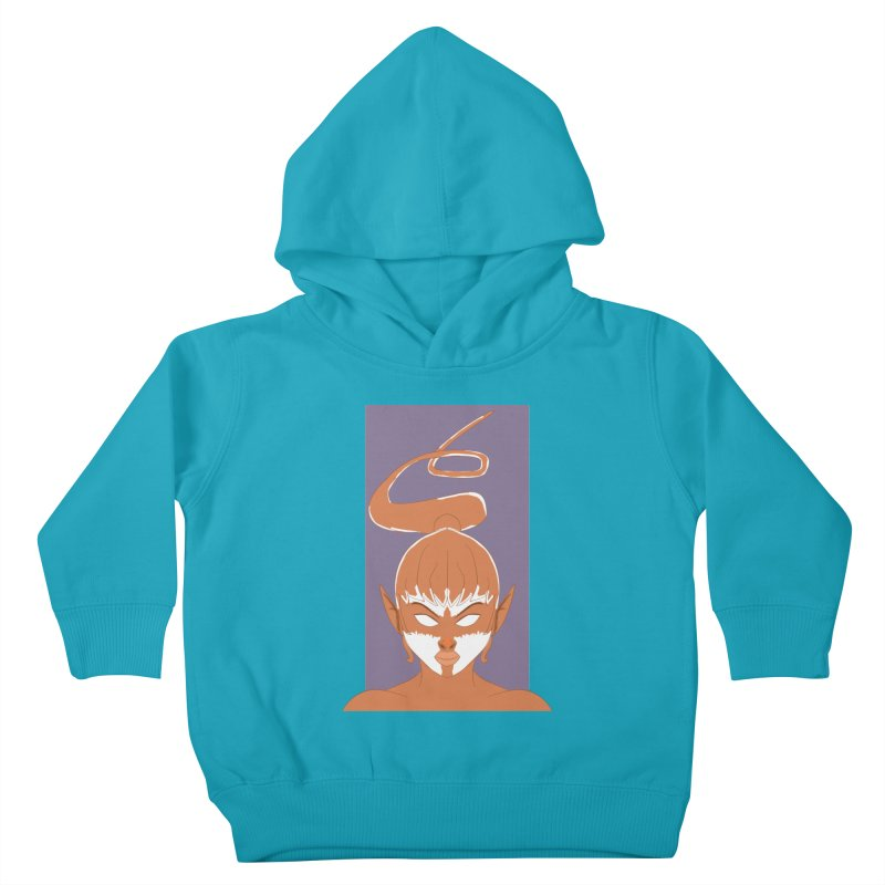 ELF GIRL Kids Toddler Pullover Hoody by droidmonkey's Artist Shop